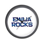 emilia rocks Wall Clock