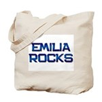 emilia rocks Tote Bag