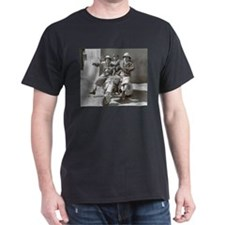 scooter three stooges T-Shirt