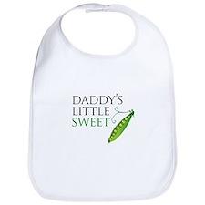 Daddy's Little Sweet Pea Bib