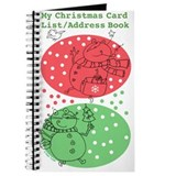 Christmas Card List/Address Book