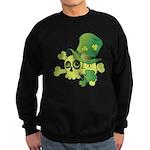 Skull & Shamrocks Sweatshirt (dark)