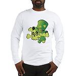 Skull & Shamrocks Long Sleeve T-Shirt