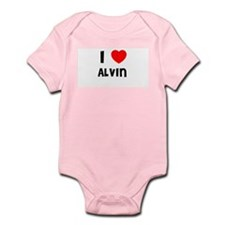 I LOVE ALVIN Infant Creeper