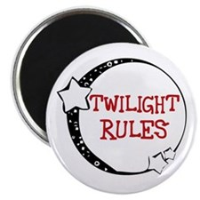 Twilight Rules Magnet