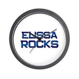 elissa rocks Wall Clock