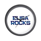 elisa rocks Wall Clock