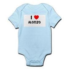 I LOVE ALONZO Infant Creeper