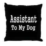 Humorous Animal Throw Pillow