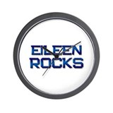 eileen rocks Wall Clock
