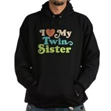 I Love My Twin Sister Hoodie