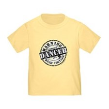 Warning Dancer High Voltage T