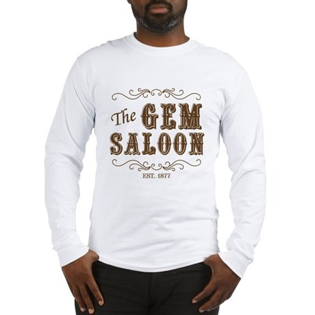 The Gem Saloon Long Sleeve T-Shirt