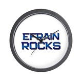 efrain rocks Wall Clock