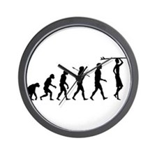 Surf Evolution Wall Clock