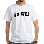 go Will White T-Shirt