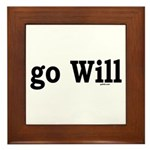 go Will Framed Tile