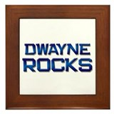 dwayne rocks Framed Tile