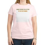 Funny Lottery Saying T-Shirt