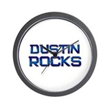 dustin rocks Wall Clock