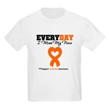Leukemia MissMyNiece T-Shirt