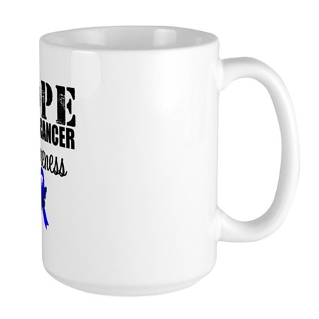 Colon Cancer Hope Large Mug