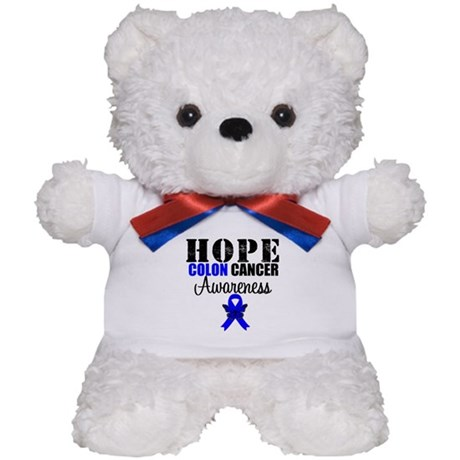 Colon Cancer Hope Teddy Bear
