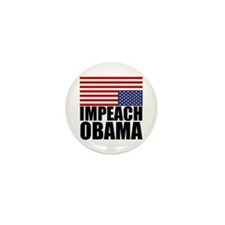 Impeach Obama Mini Button (10 pack)