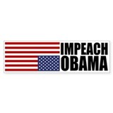 Impeach Obama Bumper Car Sticker