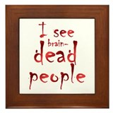 Brain Dead Framed Tile