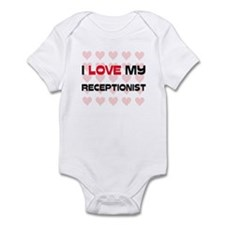 I Love My Receptionist Infant Bodysuit