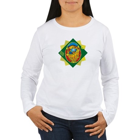 Pretty Easter Egg Women's Long Sleeve T-Shirt