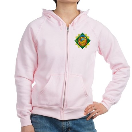 Pretty Easter Egg Women's Zip Hoodie