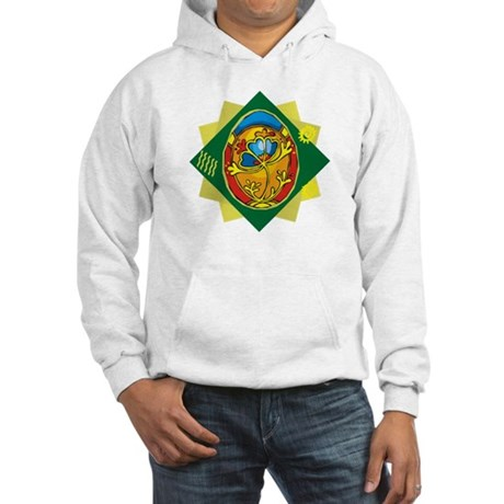 Pretty Easter Egg Hooded Sweatshirt