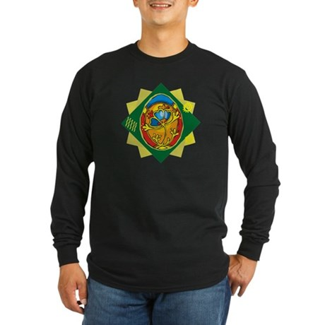 Pretty Easter Egg Long Sleeve Dark T-Shirt