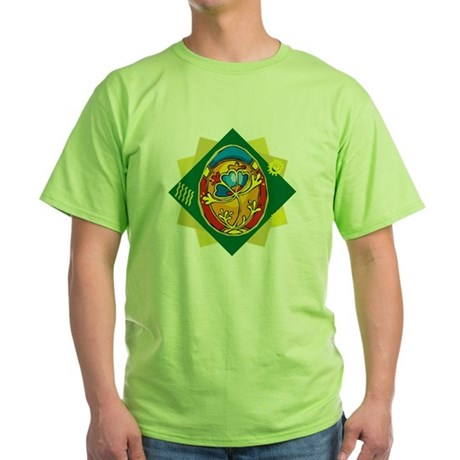 Pretty Easter Egg Green T-Shirt
