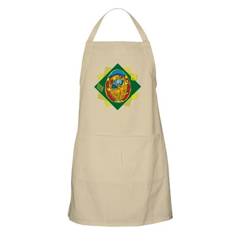 Pretty Easter Egg BBQ Apron