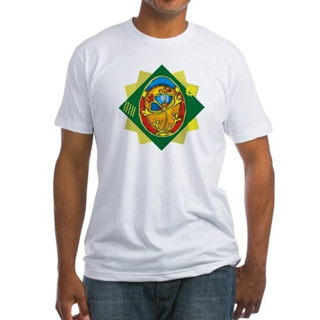 Pretty Easter Egg Fitted T-Shirt