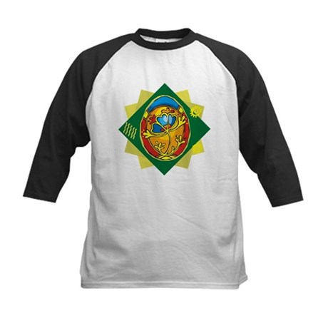 Pretty Easter Egg Kids Baseball Jersey