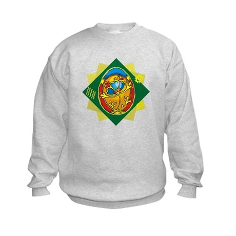 Pretty Easter Egg Kids Sweatshirt