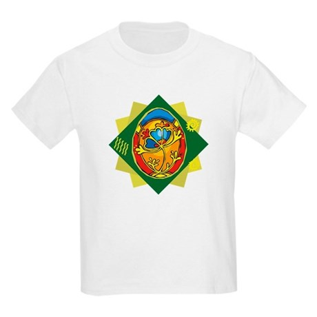 Pretty Easter Egg Kids Light T-Shirt