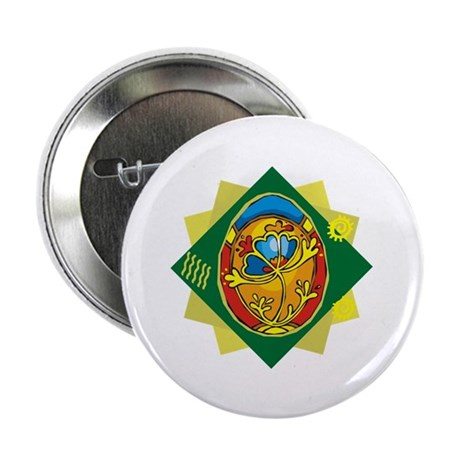 "Pretty Easter Egg 2.25"" Button (100 pack)"