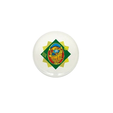 Pretty Easter Egg Mini Button (100 pack)