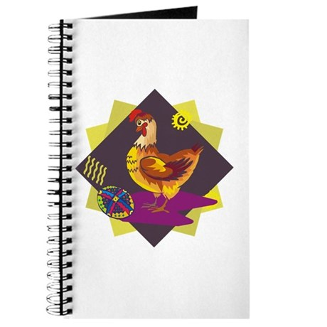 Funny Rooster Easter Journal