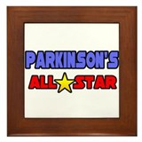 """Parkinson's All Star"" Framed Tile"