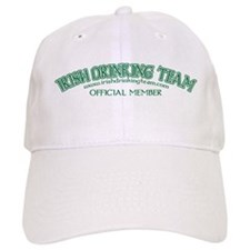 Official Irish Drinking Team Hat - White
