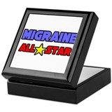 """Migraine All Star"" Keepsake Box"