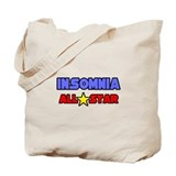 """Insomnia All Star"" Tote Bag"