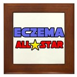 """Eczema All Star"" Framed Tile"