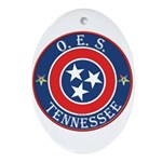 Tennessee OES Oval Ornament